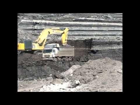 Ορυχεία ΔΕΗ Εξόρυξη λιγνίτη με τσάπες