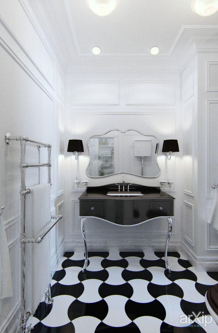 сан. узел: интерьер, квартира, дом, санузел, ванная, туалет, неоклассика, 0 - 10 м2 #interiordesign #apartment #house #wc #bathroom #toilet #neoclassicism #010m2 arXip.com