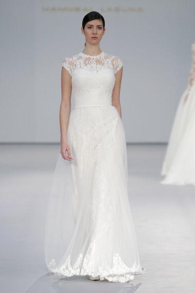 Vestidos de novia para mujeres bajitas 2017: 40 diseños perfectos para tu gran día Image: 24