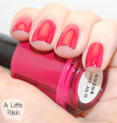 little polish seche nail color