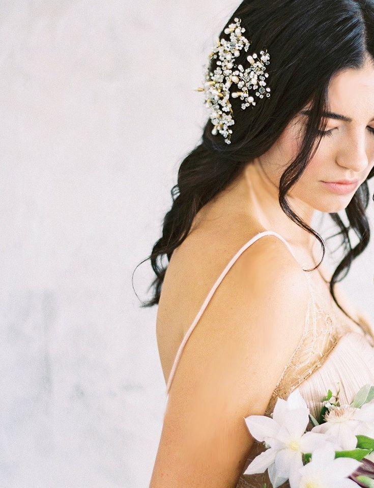 Maggie Wu Studio Gold Bridal Headpiece
