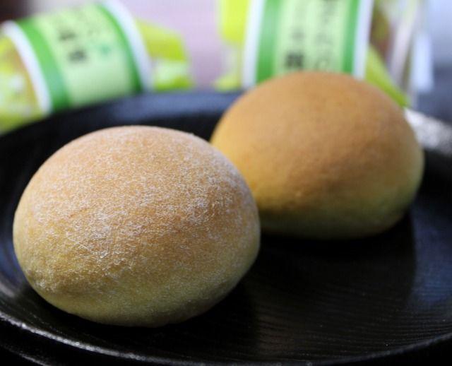 平兵衛酢さんのケーキ饅頭。へべすあんをかる~いケーキがくるんだおまんじゅうです。-【まるごと宮崎】