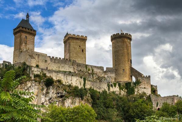 Foix Medieval Castle #Ariege # Midi Pyrenees #FRANCE