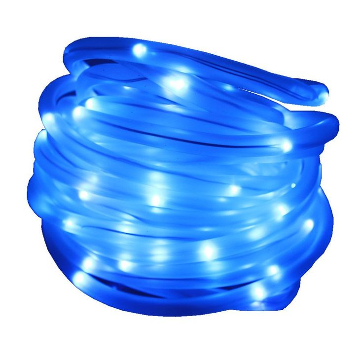 JulyFire Blue 33 ft Length 100 LED Solar Outdoor Christmas Rope Lights, Waterproof Upgraded 1500mRh Battery, For Halloween Party Pool Roof Deck Festival Garden Wedding (Blue) *** Insider's special review you can't miss. Read more  : Wedding Decor