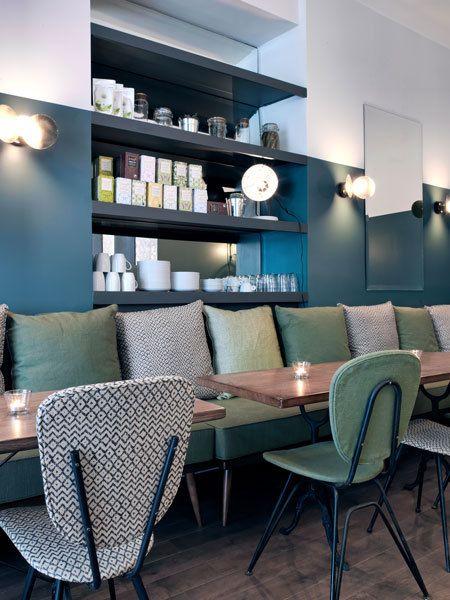 Café Pinson, Bar Design, Cafes Pinson, Restaurants Cafes, Interiors Design,