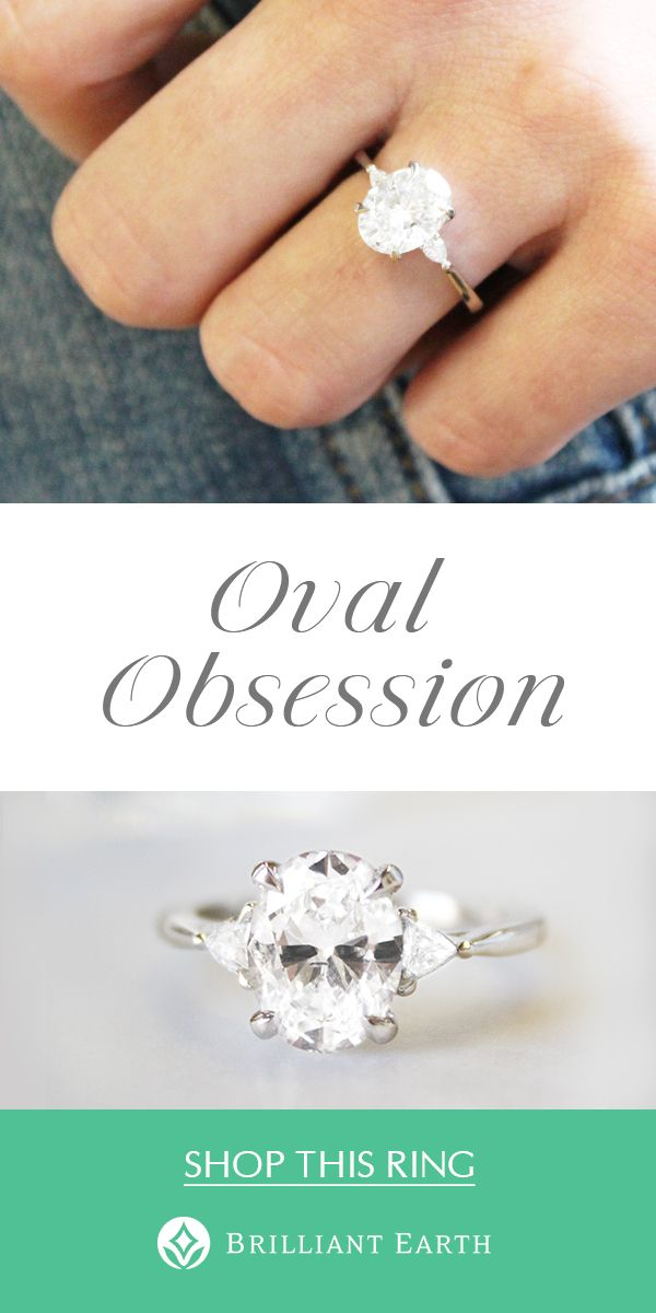 947ab92b55c723 Brilliant Earth couples are loving oval engagement rings. Romantic and  distinctive, the feminine curves of oval cut gemstones are beautifully  complemented ...
