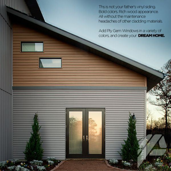24 best mastic vinyl siding images on pinterest mastic for Vinyl siding contemporary homes