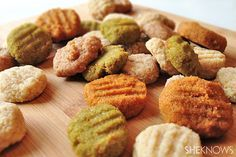 homemade soft dog treats - made with baby food great for older dogs