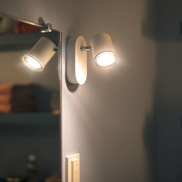 Philips Hue Adore Led Spot Weiss 1flg White Ambiance 250lm Inkl