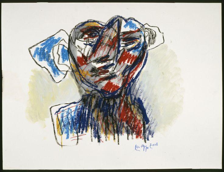 """Karel Appel, """"Untitled"""" (2006)"""