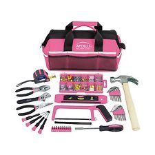 Apollo Precision Tools DT0020P Household Tool Kit Pink 201-Piece Donation... New