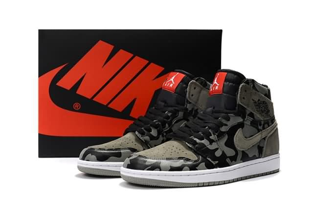 Cheap Air Jordan 1 Retro High AJ1 Camouflage Mens shoes Gray Black |Wholesale Jordan 1 Men|Discount Only Price $65 To Worldwide|Free Shipping WhatsApp:8613328373859