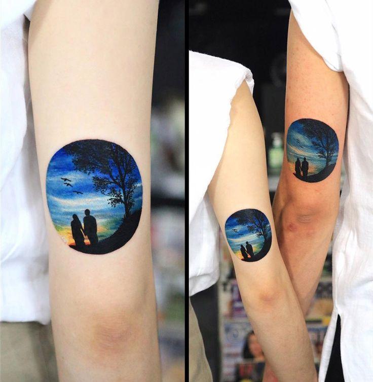 Romantic Couples Tattoo