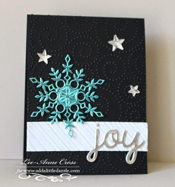 1104 best CARDS-Christmas-Snowflakes images on Pinterest | Holiday ...