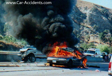 Car Fire - Don't panic when you are in this situation.  Let us be the first you call.  816.232.5886    Collision Repair Specialists - 100%