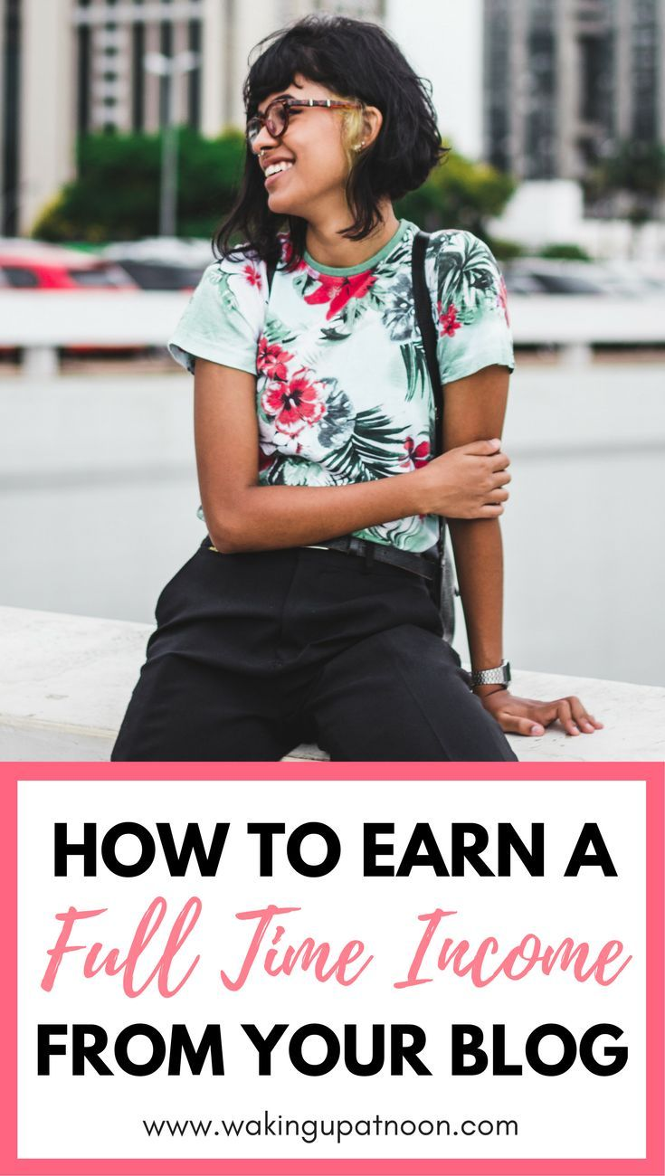 How to make money blogging and earn a full time income from your blog | Learn the tips and tricks for blogging success and how to make money with affiliate marketing as a new blogger and explode your blog traffic with these blogging tips
