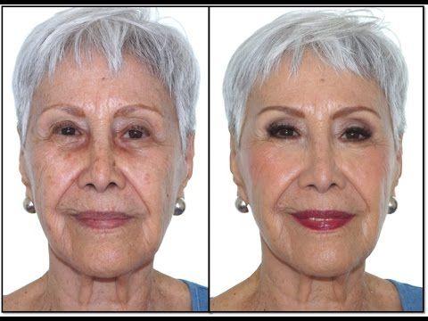 Rejuvenece 15 años con Maquillaje - Pieles Maduras - YouTube