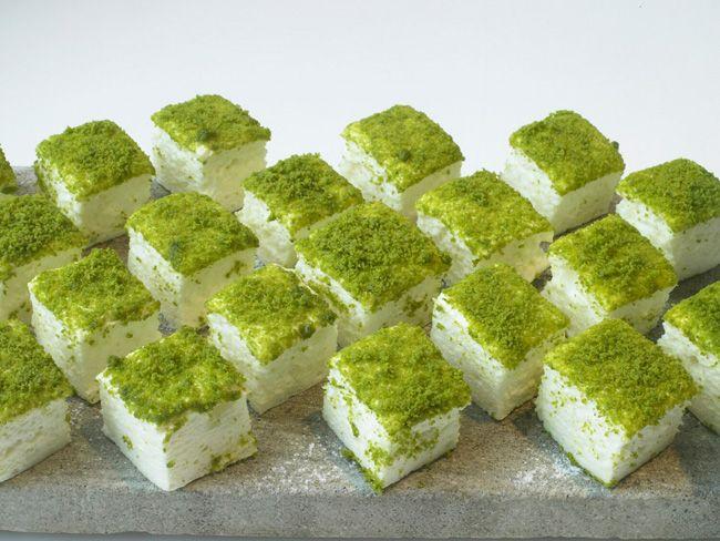 Ottolenghi - Recipes - Orange and pistachio marshmallows