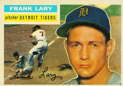 IMG FRANK LARY, League Baseball Pitcher