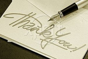 Word Funeral Thank You Notes