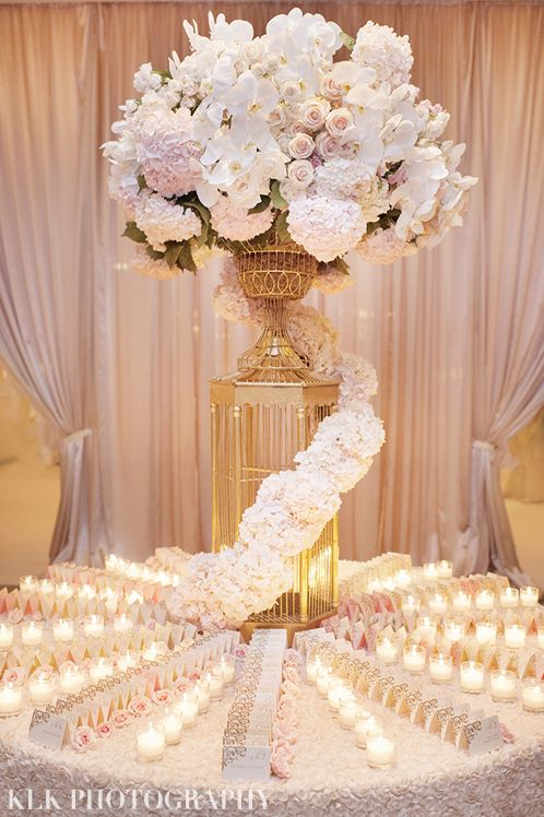 Beverly Wishire Wedding by KLK Photography | Dream Wedding | Luxurious Wedding | Event Design & Planner: White Lilac Inc. | Lighting: Amber Event Production | Ceremony Location: Saint Sophia Greek Orthodox Cathedral | Bride's Hair: Francisco Pinto | Bride's Makeup: Eva Kim Beauty | Event Branding and Invitations: Figmint Design | Calligraphy: Calligraphy Katrina | Cake: Royal Cakes | Wedding Dress and Veil: Lazaro | Groom's Attire: Emporio Armani | Reception Place Cards