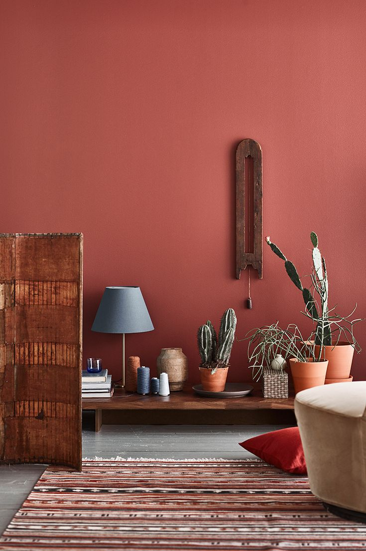 this wall color - Terracotta Wall Paint