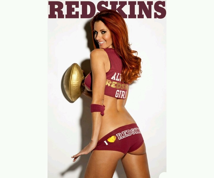 Redskin football is sexy... lol