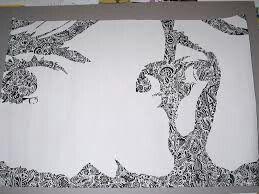 Zen tangle tree