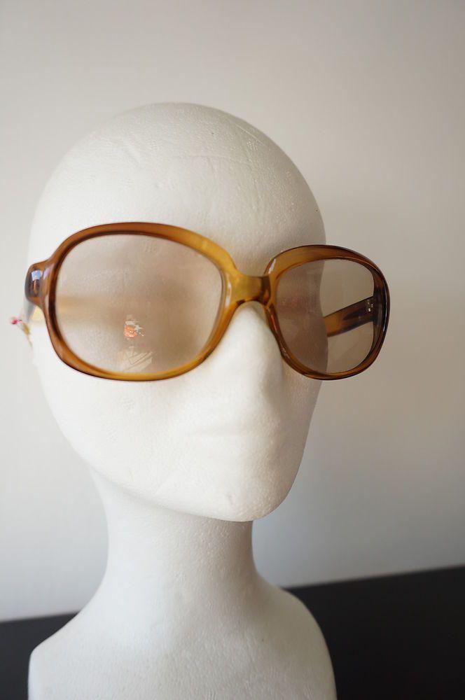 Monture lunettes ou lunettes de soleil vintage VTG 80 Geek Mixte Chirac