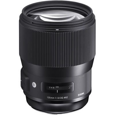 Brand New Sigma 135mm f/1.8 DG HSM Art Lens for Nikon mount