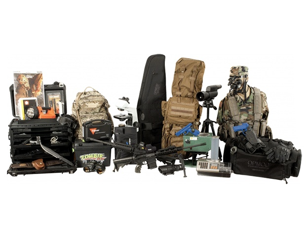Image detail for -If you're convinced of an impending zombie apocalypse, might as well splurge $24,000 on a survival kit. OpticsPlanet's Z.E.R.O kit — short for Zombie ...