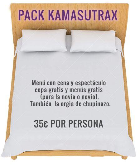 PACK despedidas KamasutraX