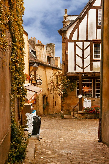Rochefort-en-Terre, Morbihan, Brittany...One of the most beautifull city of France