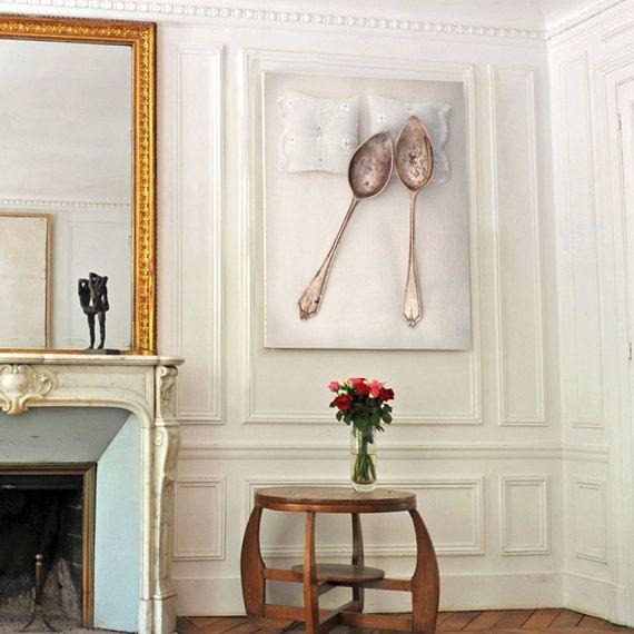 20x30 Big Canvas Spooning No.4 Fine Art Photography door petekdesign, $95.00