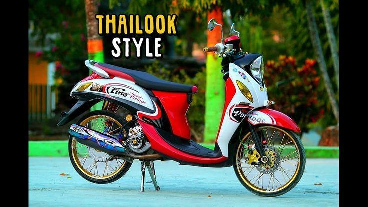 Modifikasi Motor Fino 50cc Motor Kendaraan Motor Modifikasi
