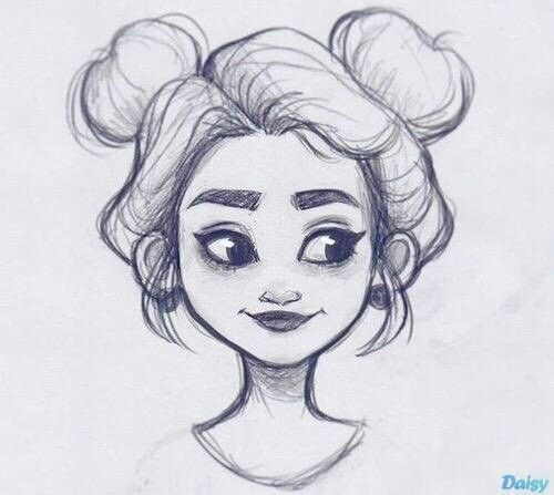 Caitlin saved to cook Hairy Hairstyle Drawings –
