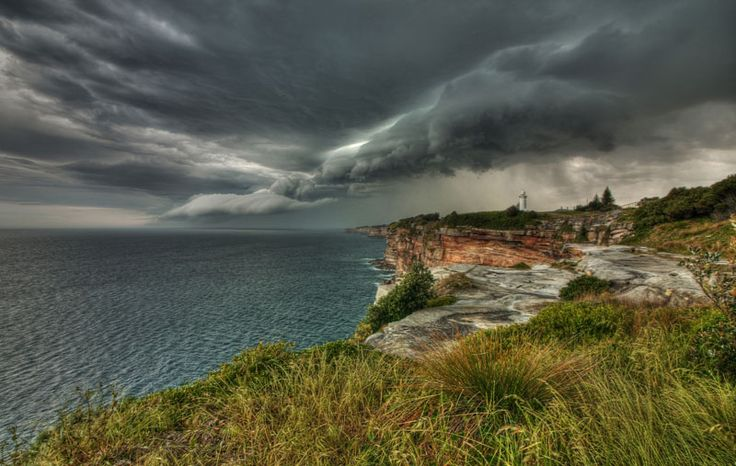 Vaucluse lighthouse. Right time, right place. One of my all time favourite shots.