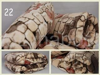 Kvalitní deka z mikrovlákna vzor kámen