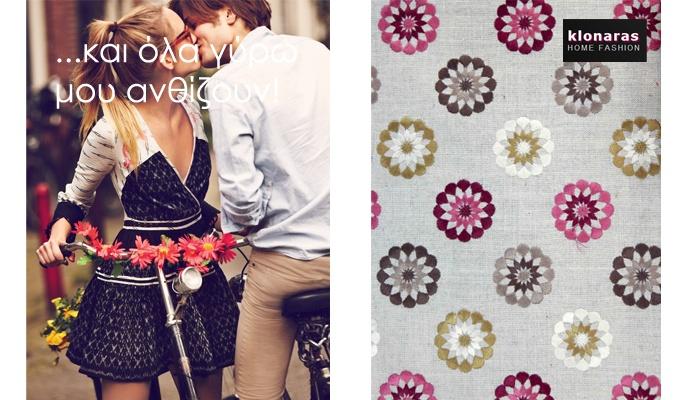 #textiles #fabric #deco #decoration #home #flowers