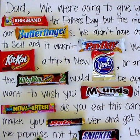 Candy Bar Card from Bits of Everything... So doing this for my hubby from the kids:)