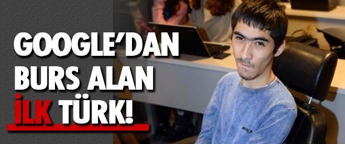 Google'dan burs alan ilk Türk engelli olan 24 yaşındaki Muratcan Çiçek, BBC Türkçe'ye konuştu.