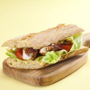 Kylling-bacon sandwich opskrift