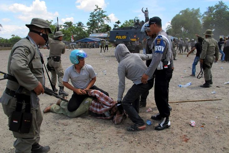 Arrests made at ceremony in West Papua