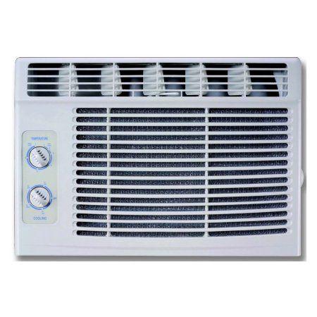 RCA 5,000 BTU 115V Window Air Conditioner with Mechanical Controls, White