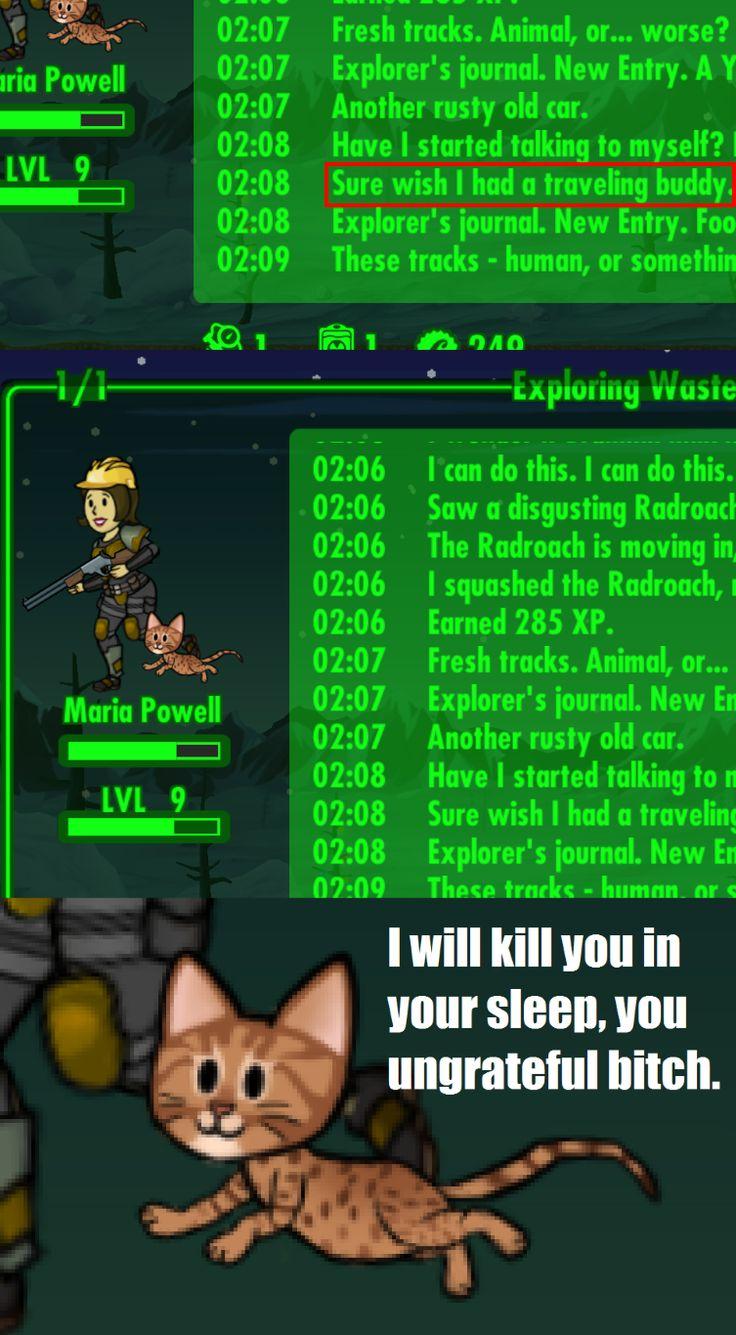 Ingratitude. [Fallout Shelter]