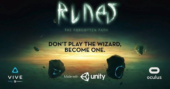 The VR adventure Runes: The Forgotten Paths Kickstarter has launched