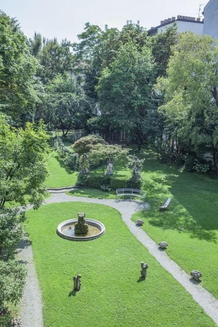 Milano, l'Expo fa ripiantare la vigna di Leonardo da Vinci- Nel giardino  del  palazzo Antellani