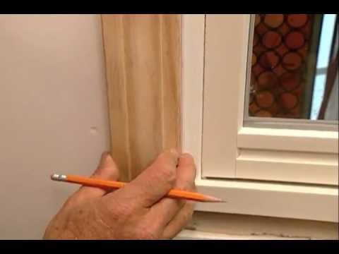 How to Install Window Trim - This Old House/ might have shared already but...that's okay