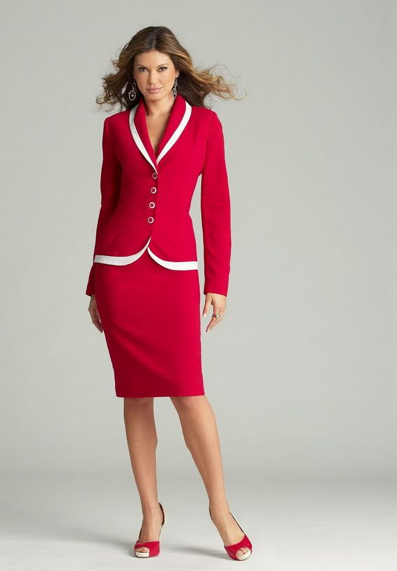 100 best images about Woman skirt suit on Pinterest | For women ...