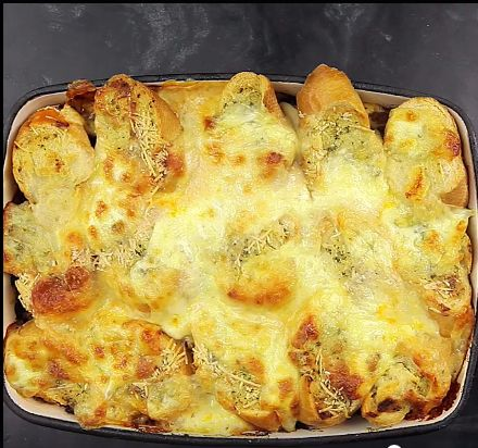 Garlic Bread Lasagna                                                                                                                                                                                 More